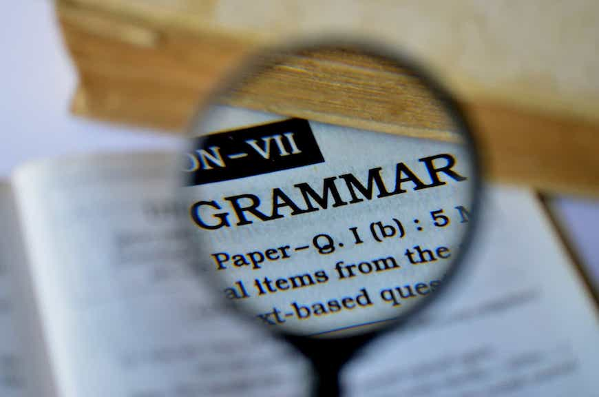 what is grammar, Blog
