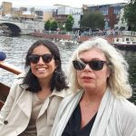 Lesley W, English Homestay teacher profile photo with a student