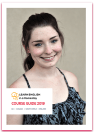 english course brochure