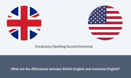What are the differences between British English and American English?