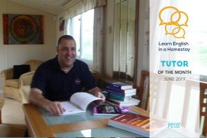 Tutor of the Month for June – Peter